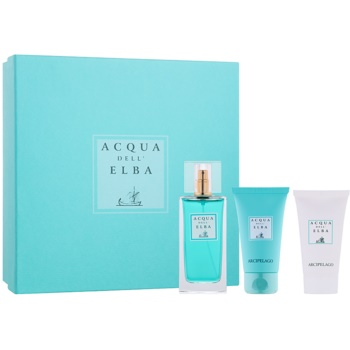 Acqua dell' Elba Arcipelago Women Gift Set III EDT 3,4 oz + Shower Gel 1,7 oz + Body Lotion 1,7 oz