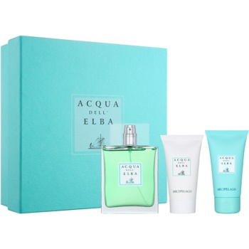 Acqua dell' Elba Arcipelago Gift Set IV. EDP 3,4 oz + Shower Gel 1,7 oz + Body Lotion 1,7 oz  men