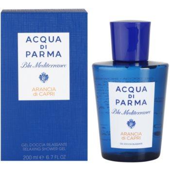 Acqua di Parma Blu Mediterraneo Arancia di Capri Shower Gel unisex 6.7 oz