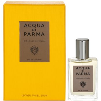 Acqua di Parma Colonia Intensa Eau de Cologne for men 1 oz + Leather Case ADPCOIM_AEDC40