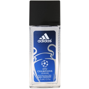 Adidas UEFA Champions League deodorant with a sprayer for men 2.5 oz