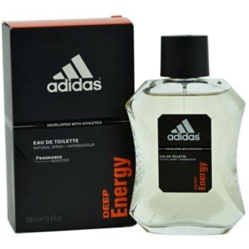 Adidas Deep Energy EDT for men 3.4 oz