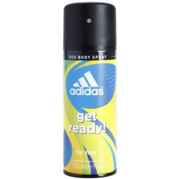 Adidas Get Ready! Deo spray for men 5.0 oz