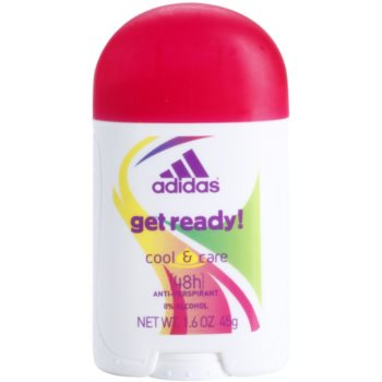 Adidas Get Ready! Deostick for Women 1.6 oz