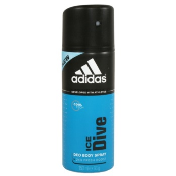 Adidas Ice Dive Deo spray for men 5.0 oz 24 h