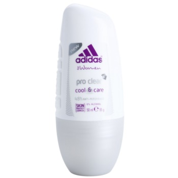 Adidas Pro Clear Cool & Care Deodorant Roll-on for Women 1.7 oz