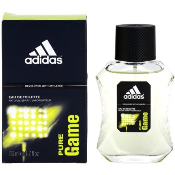 Adidas Pure Game Eau De Toilette for men 1.7 oz ADIPUGM_AEDT20