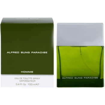 Alfred Sung Paradise EDT for men 3.4 oz