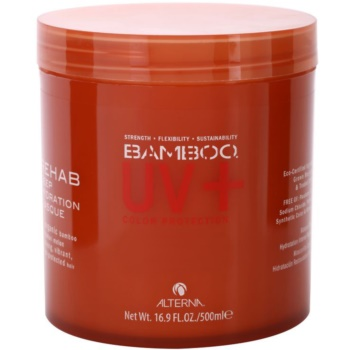 Alterna Bamboo Color Hold+ Hydrating Mask For Colored Hair (Rehab Deep Hydration Masque with Organic Bamboo & Kalahari Melon) 17 oz ALNBCHW_KMSQ20