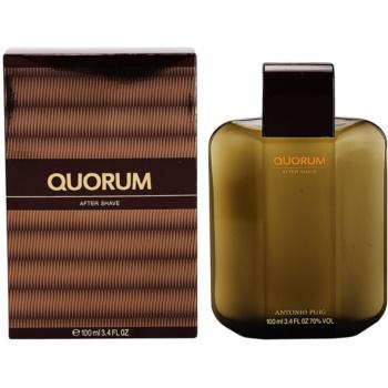 Antonio Puig Quorum After Shave Lotion for men 3.4 oz APUQUOM_DASW10