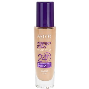 Astor Perfect Stay 24H Foundation Color 102 Golden Beige (Foundation + Perfect Skin Primer) 1 oz AST24PW_KMUP10