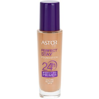 Astor Perfect Stay 24H Foundation Color 302 Deep Beige (Foundation + Perfect Skin Primer) 1 oz AST24PW_KMUP40