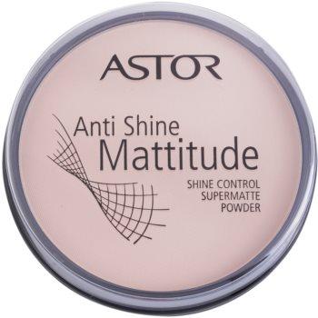 Astor Mattitude Anti Shine Mattifying Powder Color 001 Ivory (Supermatte Powder) 0.49 oz ASTASHW_KPWD10