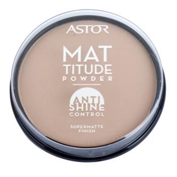 Astor Mattitude Anti Shine Mattifying Powder Color 004 Sand (Supermatte Powder) 0.49 oz ASTASHW_KPWD40