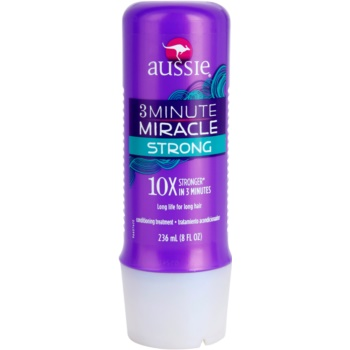 Aussie 3 Minute Miracle Strong Deep Three - Minute Conditioner for Damaged Hair  8 oz AUS3MSW_KCND05