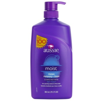 Aussie Moist Moisturizing Shampoo For All Types Of Hair (With a Touch of Natural Australian Aloe and Jojoba Seed Oil) 29.2 oz AUSM0MW_KSHA20