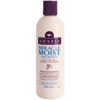 Aussie Miracle Moist Shampoo for Dry and Damaged Hair  10 oz AUSMIMW_KSHA10