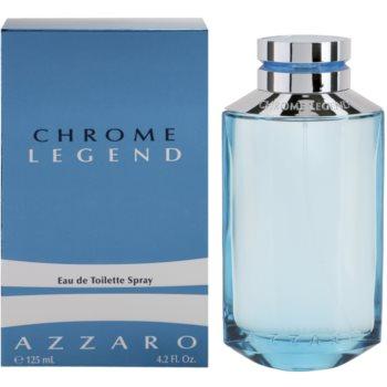 Azzaro Chrome Legend EDT for men 4.2 oz