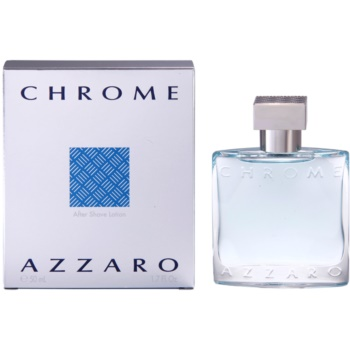 Azzaro Chrome After Shave Lotion for men 1.7 oz