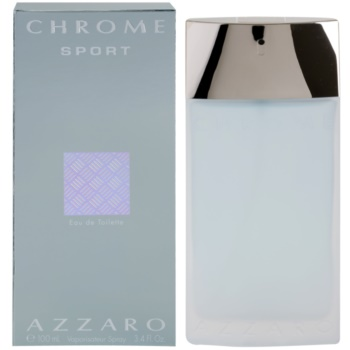 Azzaro Chrome Sport EDT for men 3.4 oz