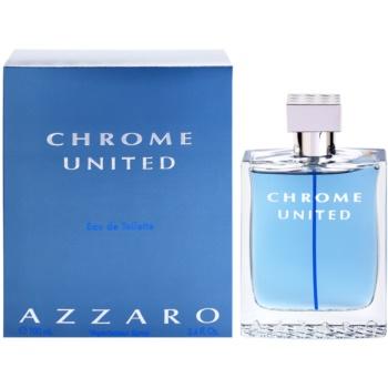 Azzaro Chrome United EDT for men 3.4 oz