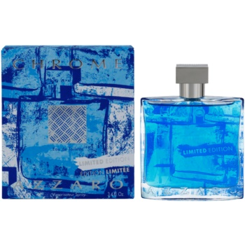 Azzaro Chrome Limited Edition 2015 EDT for men 3.4 oz