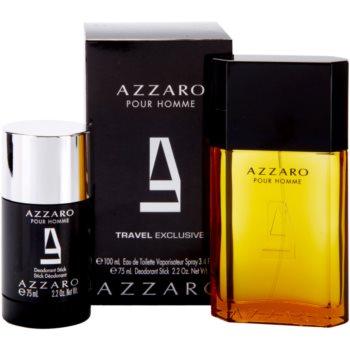 Azzaro Azzaro Pour Homme Gift Set II. EDT 3,4 oz + Deodorant Stick 2,5 oz