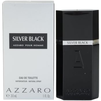 Azzaro Silver Black EDT for men 1 oz