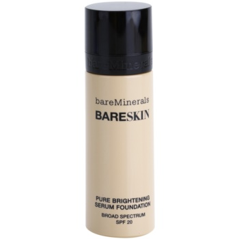 BareMinerals bareSkin® Brightening Serum Foundation SPF 20 Color 02 Bare Shell 1 oz BAMBASW_KMUP15