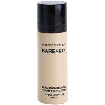 BareMinerals bareSkin® Brightening Serum Foundation SPF 20 Color 02 Bare Shell 1 oz BAMBASW_KMUP15