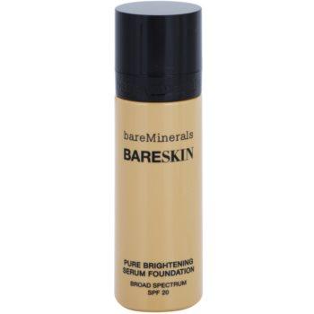 BareMinerals bareSkin® Brightening Serum Foundation SPF 20 Color Bare Buff 10 1 oz BAMBASW_KMUP17