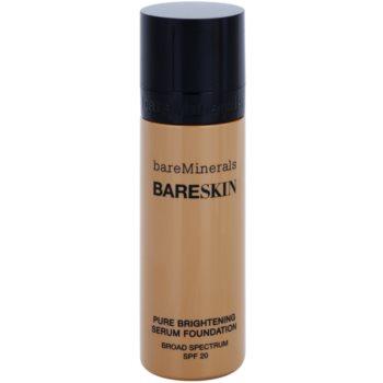 BareMinerals bareSkin® Brightening Serum Foundation SPF 20 Color Bare Latte 11 1 oz BAMBASW_KMUP23