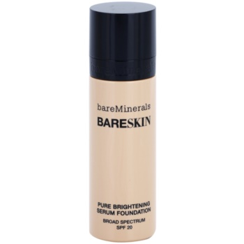 BareMinerals bareSkin® Brightening Serum Foundation SPF 20 Color Bare Satin 06 1 oz BAMBASW_KMUP27