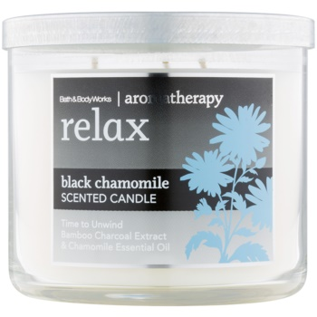 Bath & Body Works Relax Black Chamomile Scented Candle 14,5 oz BBORBCH_DCAN10