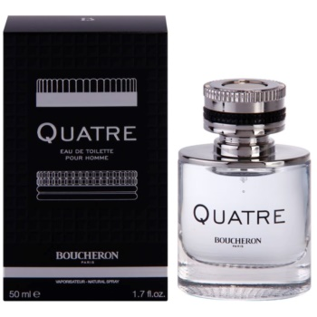 Boucheron Quatre EDT for men 1.7 oz