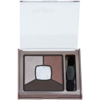 Bourjois Smoky Stories Smoky Eyeshadows Palette Color 05 Good Nude 0.1 oz BOUSMSW_KEYS05