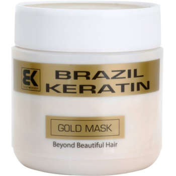 Brazil Keratin Gold Keratin Restore Mask For Damaged Hair  17 oz BRKGLDW_KMSQ10