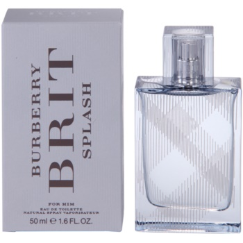 Burberry Brit Splash EDT for men 1.7 oz