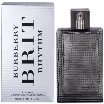 Burberry Brit Rhythm for men Intense EDT for men 3 oz