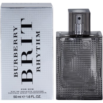 Burberry Brit Rhythm for men Intense EDT for men 1.7 oz