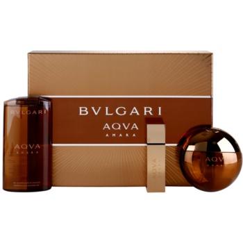 Bvlgari AQVA Amara Gift Set EDT 3,4 oz + EDT 0,5 oz + Shower Gel 6,7 oz