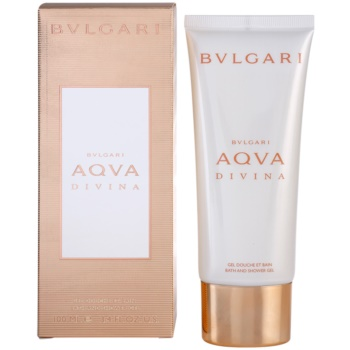Bvlgari AQVA Divina Shower Gel for Women 3.4 oz
