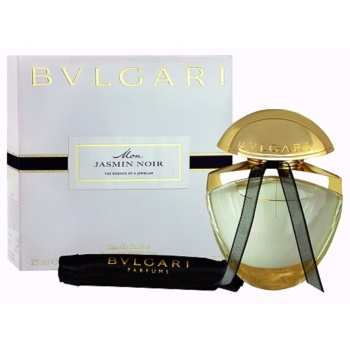 Bvlgari Jasmin Noir Mon EDP for Women 0.8 oz + Satin Bag