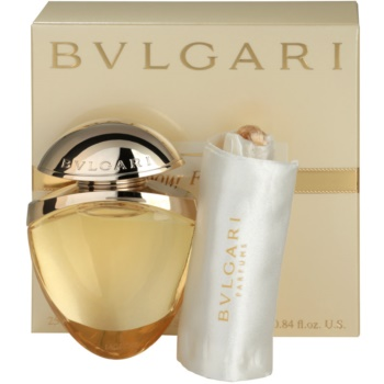 Bvlgari Jewel Charms Pour Femme EDP for Women 0.8 oz + Satin Bag