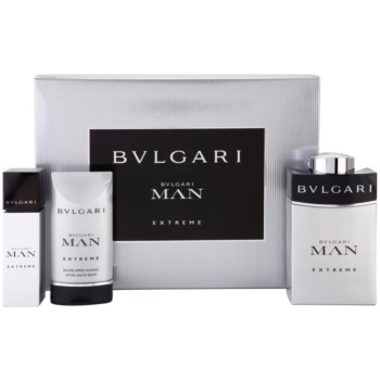 Bvlgari Man Extreme Gift Set III EDT 3,4 oz + EDT 0,5 oz + Aftershave Balm 2,5 oz  men
