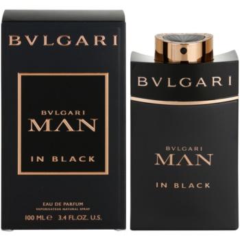 Bvlgari Man In Black EDP for men 3.4 oz
