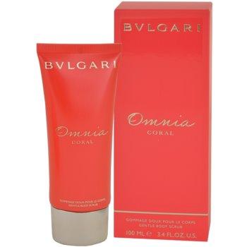 Bvlgari Omnia Coral Shower Gel for Women 3.4 oz Body Shower Peeling