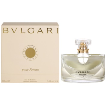 Bvlgari Pour Femme EDT for Women 3.4 oz
