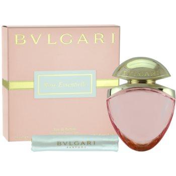 Bvlgari Rose Essentielle EDP for Women 0.8 oz + Satin Bag