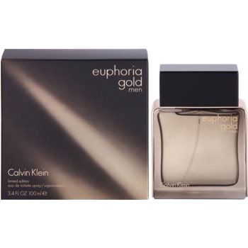 Calvin Klein Euphoria Gold Men EDT for men 3.4 oz